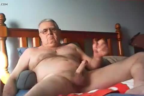 grandpa sperm On web camera