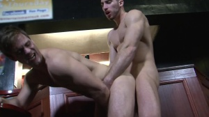 Cruising movie scene 4 - Gabriel Clark with Leo Domenico ass Hump
