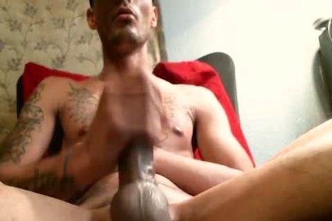 Krys Brown - Flirt4Free - delicious Hunk Jerks His shlong Up Close And Personal